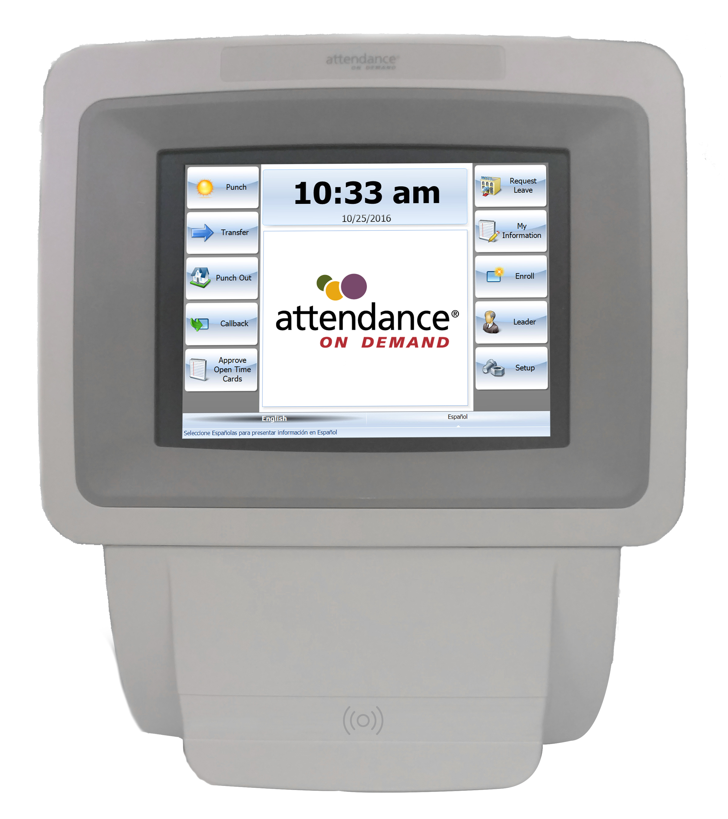 IntelliTouch 60 proximity reader